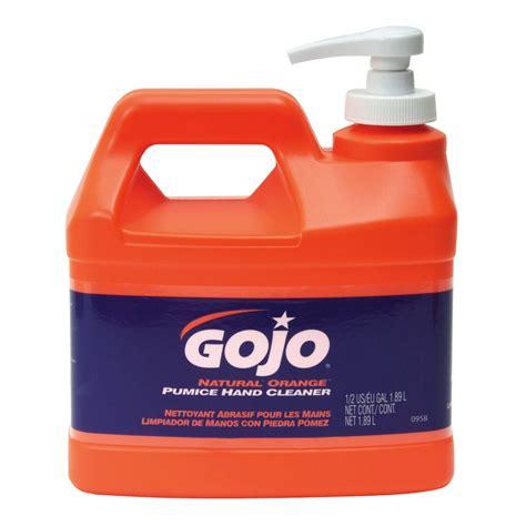 gojo  natural orange pumice hand cleaner  oz