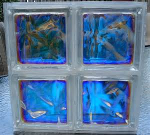 colored glass block color mirage decorative glass block