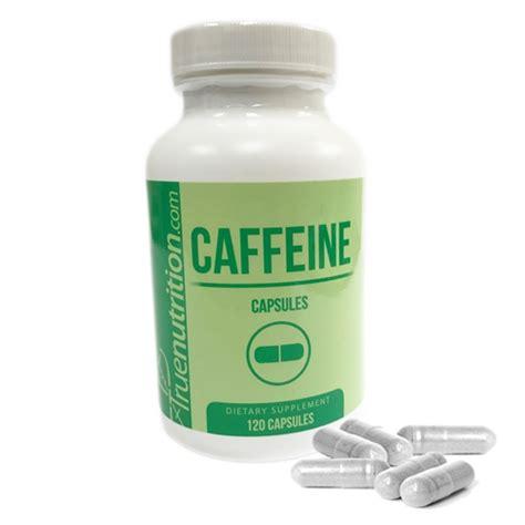 Caffeine Detox Pills by Caffeine 120 200mg Capsules Burn Increase Energy
