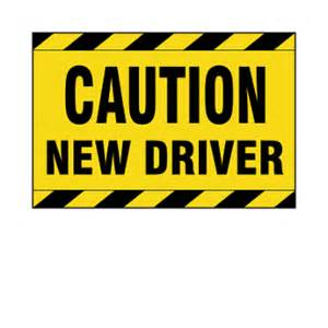 new driver car sign image gallery new driver