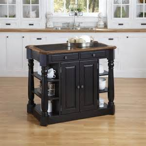 kitchen island granite top home styles americana kitchen island with granite top