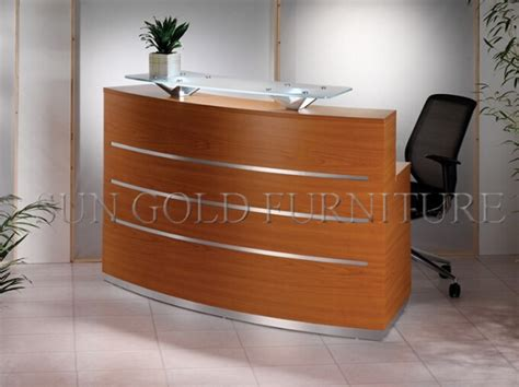 buy reception desk office supplies wholesale modern curved wood reception