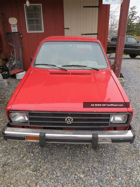 volkswagen rabbit pickup 1980 vw rabbit pickup truck caddy