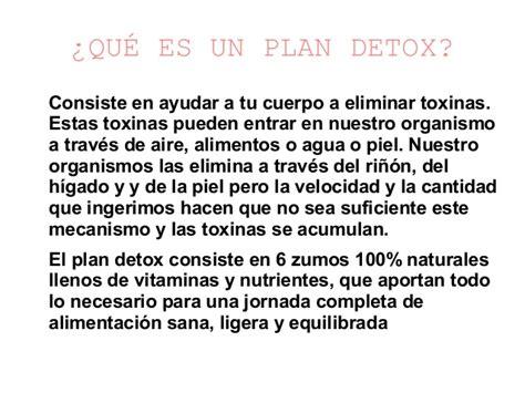 Im Detox Que Es alimentacion detox