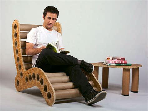 mobili in cartone riciclato mobili in cartone riciclato il cartone riciclato diventa