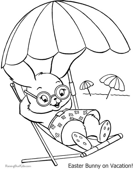 rabbit coloring pages pdf easter bunny coloring picture 001 coloring home