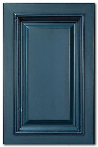 Distressed Painted Kitchen Cabinets by Blue Kitchen Cabinets With Glaze Quicua Com