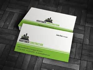 free construction business cards templates simple corporate business card template 187 free 187 cp00003