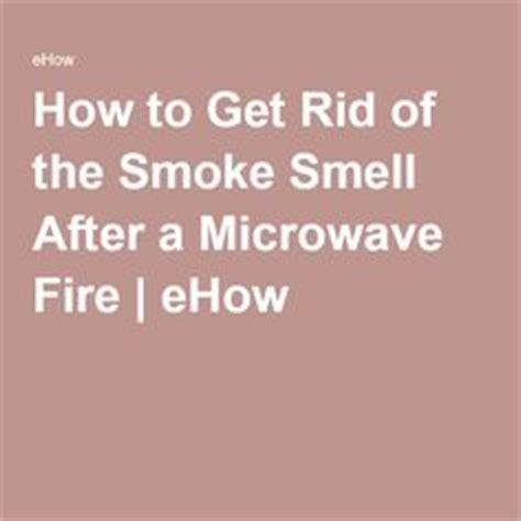 1000 ideas about smoke smell on how to remove