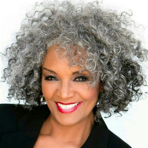 natural styles for gray hair gorgeous gray gorgeous gray natural hair pinterest
