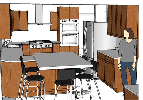 sketchup kitchen layout sketchup set design template newhairstylesformen2014 com