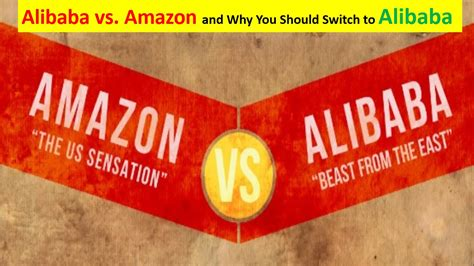 alibaba vs amazon sales alibaba vs amazon and why you should switch to alibaba