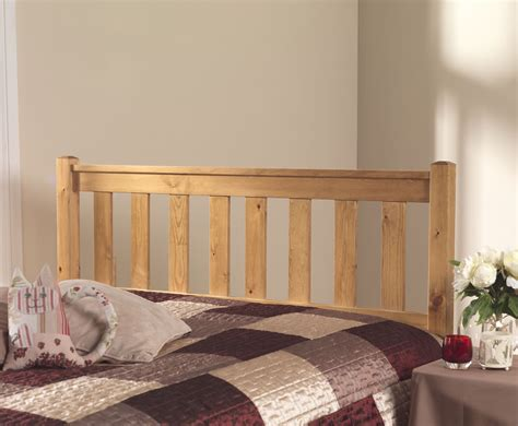 pine wood headboard shaker slatted pine headboard just headboards