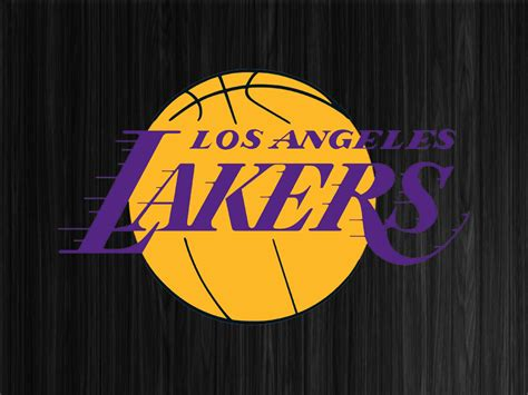 Lakers Logo Wallpaper   WallpaperSafari