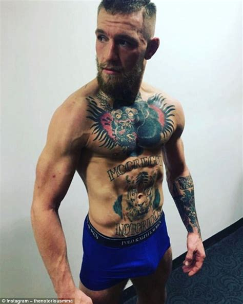 conor mcgregor tattoo pics mcgregor v mayweather talks largely at a standstill