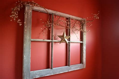 window decor craft ideas with old windows