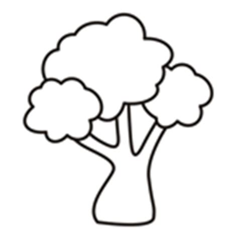 Easy Coloring Pages For Toddlers Small Tree Coloring Pages