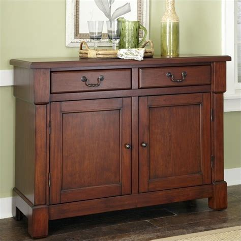 Sideboard Kitchen Buffet In Rustic Cherry 5520 61