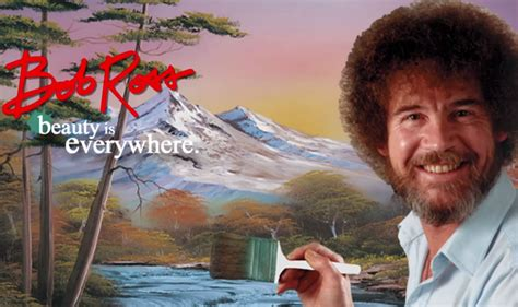 bob ross painting tv netflix now calming painter bob ross to remind