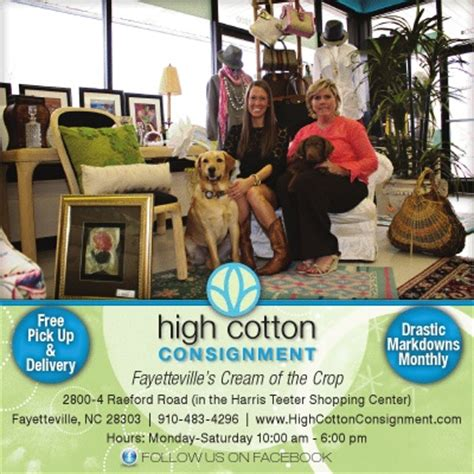 high cotton consignment consignment fayetteville nc