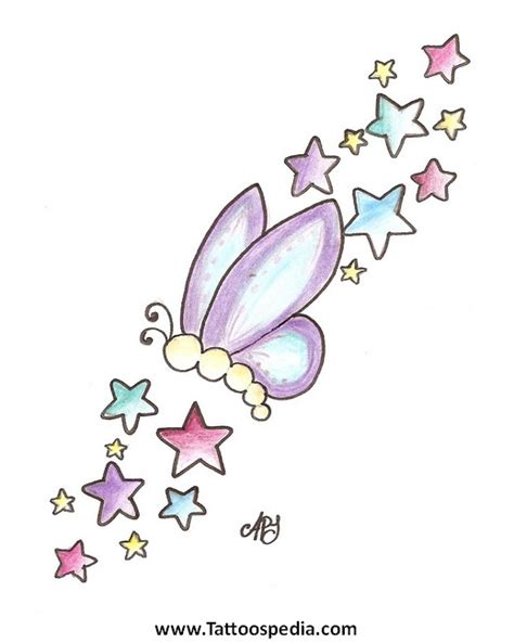 girly star tattoo designs designs girly 2