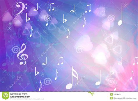 imagenes de corazones musicales extracto con los corazones y las notas musicales imagen de