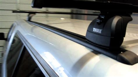thule truck cap roof rack truck cap cer shell topper with thule podium base roof rack on tracks by rack outfitters