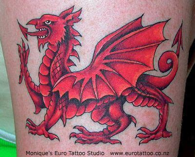 welsh dragon sleeve tattoo designs lovely my