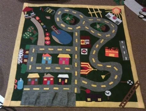 car play mat kid stuff