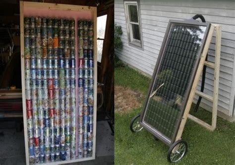 how to build a solar array how to build a solar panel from soda cans