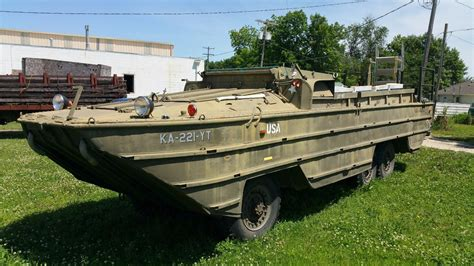 wwii duck boats for sale 1945 wwii hibious military dukw used for sale in