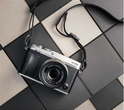 Fujifilm X E3 Black Kamera Mirrorless Kamera Fuji Limited buy fujifilm x e3 mirrorless with xf 23 mm f 2 lens black free delivery currys