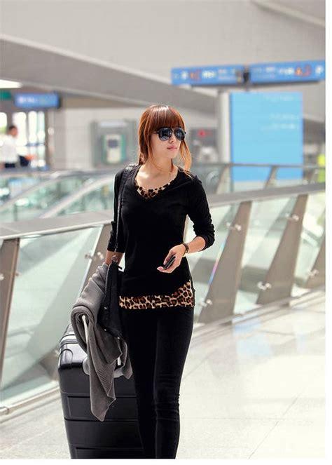Baju Kaos Lengan Panjang Simple 1 baju kaos wanita simple lengan panjang toko baju wanita murah goldendragonshop