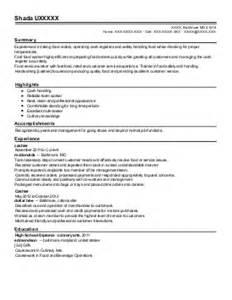 Courtesy Clerk Sle Resume by Courtesy Clerk Resume Exle Krogers Flint Michigan