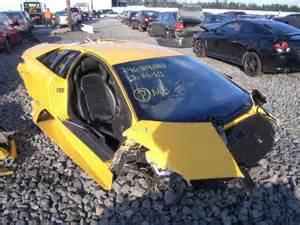 crashed lamborghini for salvage lamborghini cars for sale damaged repairable html
