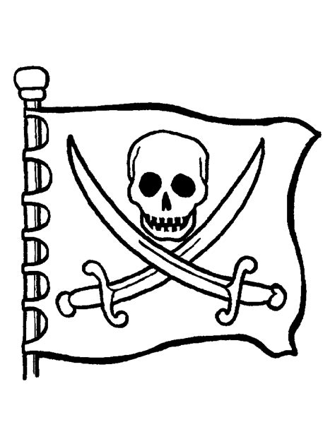 Skull And Bones Colori Skull And Crossbones Coloring Pages