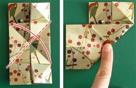 origami christmas decorations step by step origami ornaments to make with photo