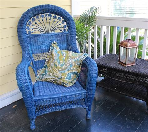spray paint wicker furniture 65 best images about wicker furniture on front