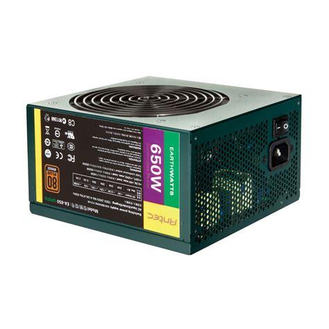 alimentatore antec antec earthwatts ea650 green 80plus bronze alimentation