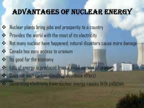 Nuclear Power Plant Advantages And Disadvantages Essay by Nuclear Energy Powerpoint