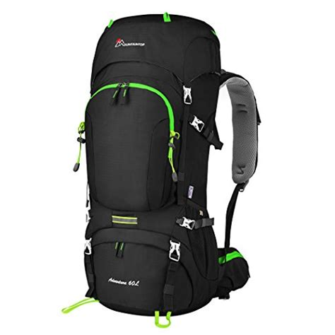 mountaintop 60l frame backpack hiking backpacking import it all