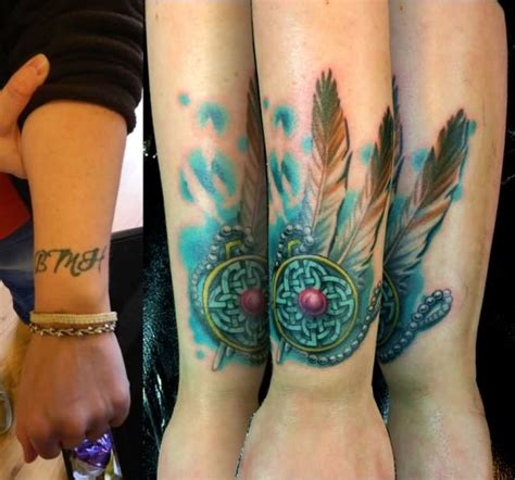 watercolor tattoo cover ups 50 cover up tattoos that will stun you instantly