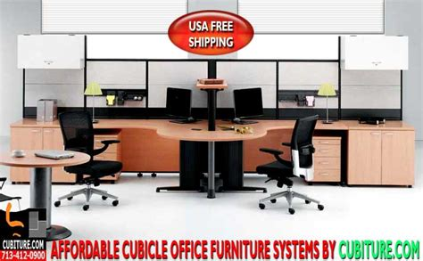 cubicle office furniture systems free usa shipping