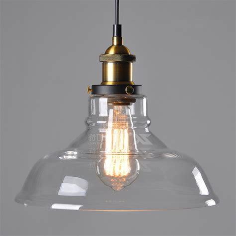 glass kitchen light fixtures aliexpress com buy vintage rustic crystal glass pendant