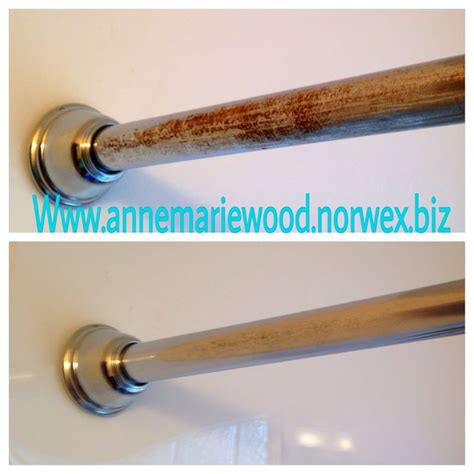 How To Clean Rust Shower Rod cleaning paste took the rust my shower rod before