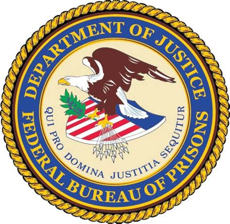 federal bureau of prisons federal government seals carved wood wall plaques