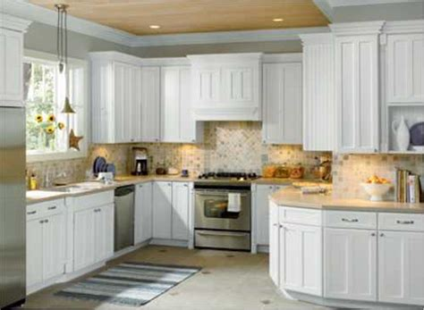 White Kitchen Cabinets With White Backsplash Decorations 41 White Kitchen Interior Design Decor