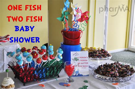 Fish Themed Baby Shower by One Fish Two Fish Baby Shower The Pharma
