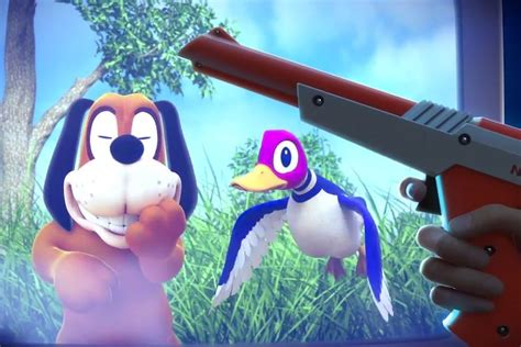 Duck Hunt the original duck hunt is coming to wii u console