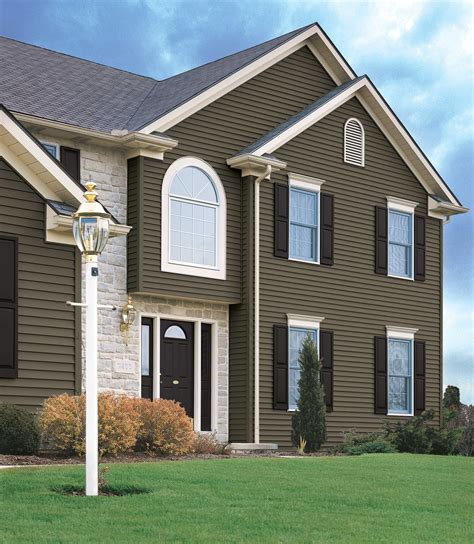 colors of siding vinyl siding color combinations